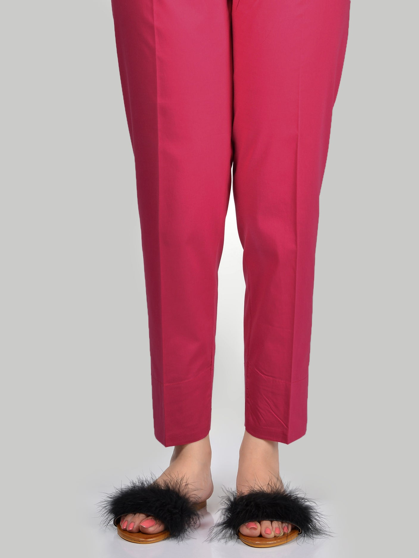 Straight Trouser-Pink