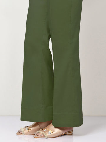 Winter Cotton Pants - Army Green