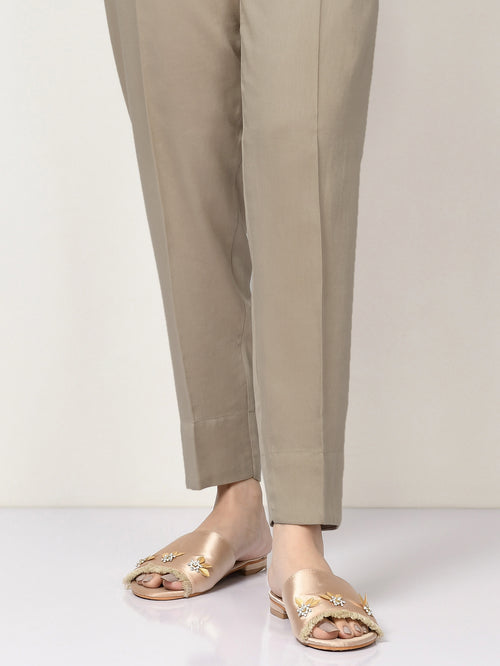 Winter Cotton Trouser - Light Mud