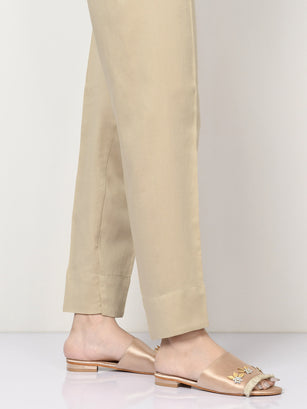 Winter Cotton Trouser - Beige