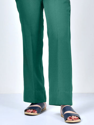 Winter Cotton Pants - Sea Green