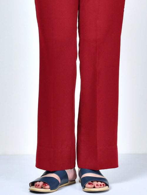 Winter Cotton Pants - Red