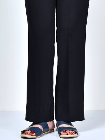 Unstitched Winter Trouser - Black