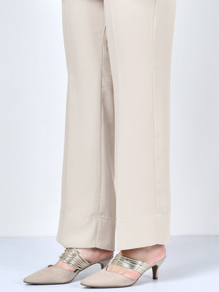 Bootcut Pants - Light Grey