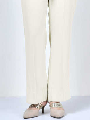 Bootcut Pants - Off White