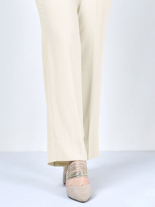 Winter Cotton Pants - Cream