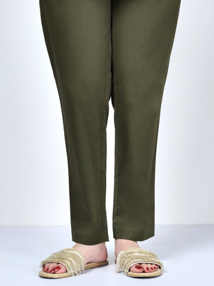 Pocketed Trouser-Dark Green