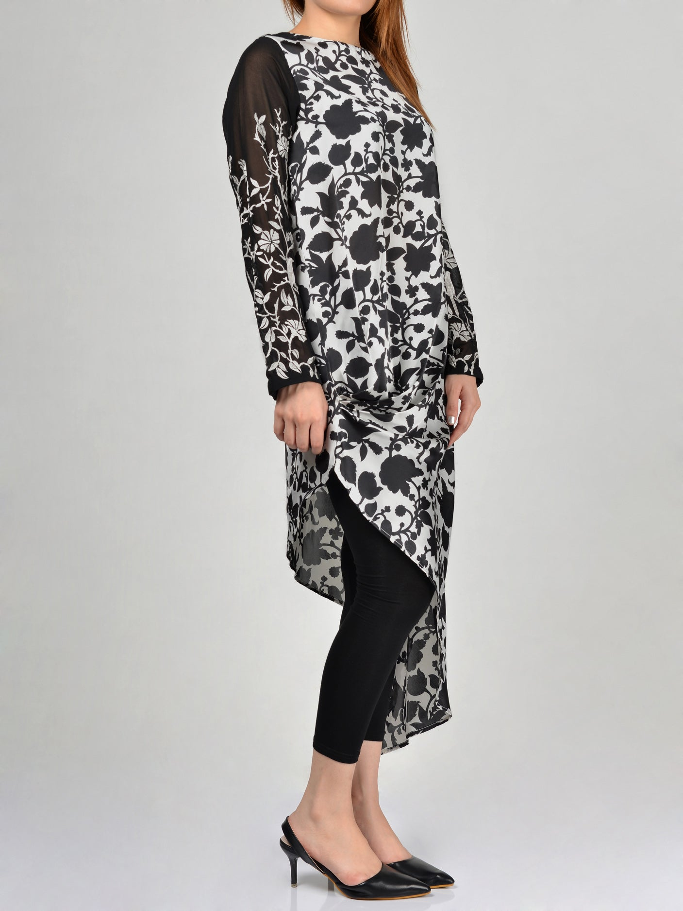 Buy Limelight Embroidered Silk Shirt F0388 Online in Pakistan | Limelight.pk
