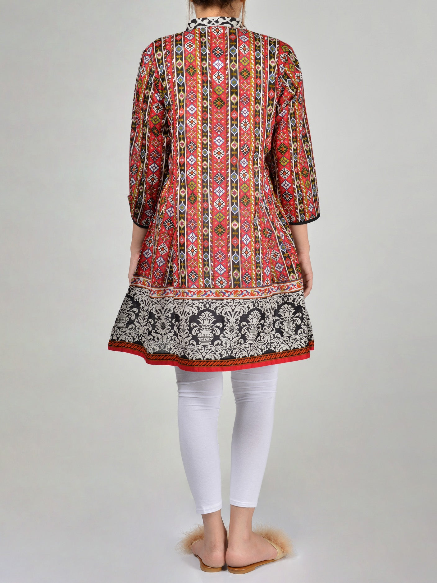 Printed Lawn Frock P0160 by limelight Online in Pakistan | Limelight.pk