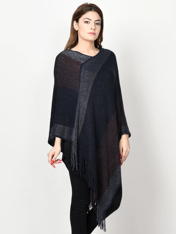 Three Toned Poncho