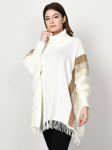 Shimmer Striped Cape
