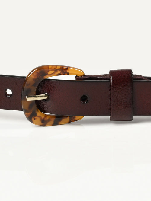 Patterned Buckle Belt