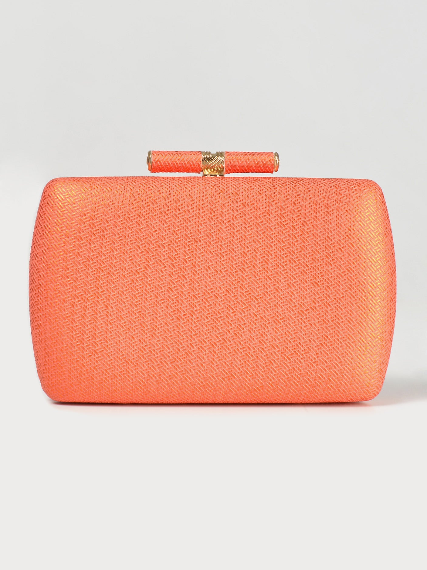 Gleaming Textured Clutch
