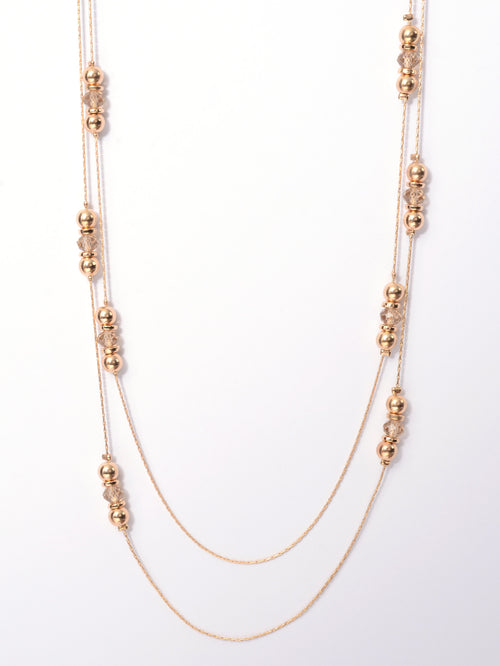 Layered Beads Necklace