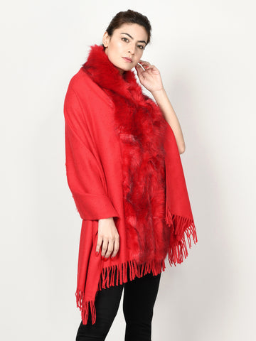 Fur Cape Shawl
