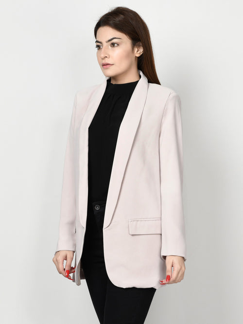 Basic Coat - Tea Pink