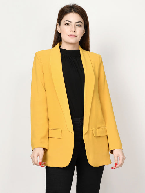 Basic Coat -Yellow