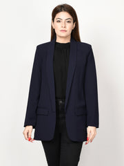 Basic Coat - Dark Blue