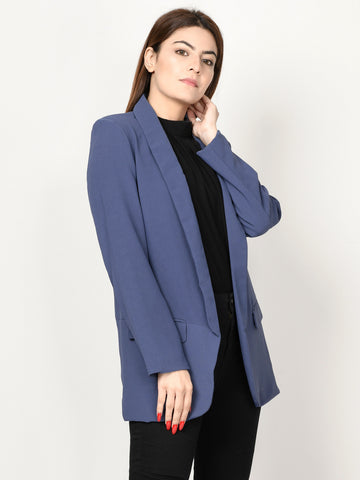 Basic Coat - Light Blue