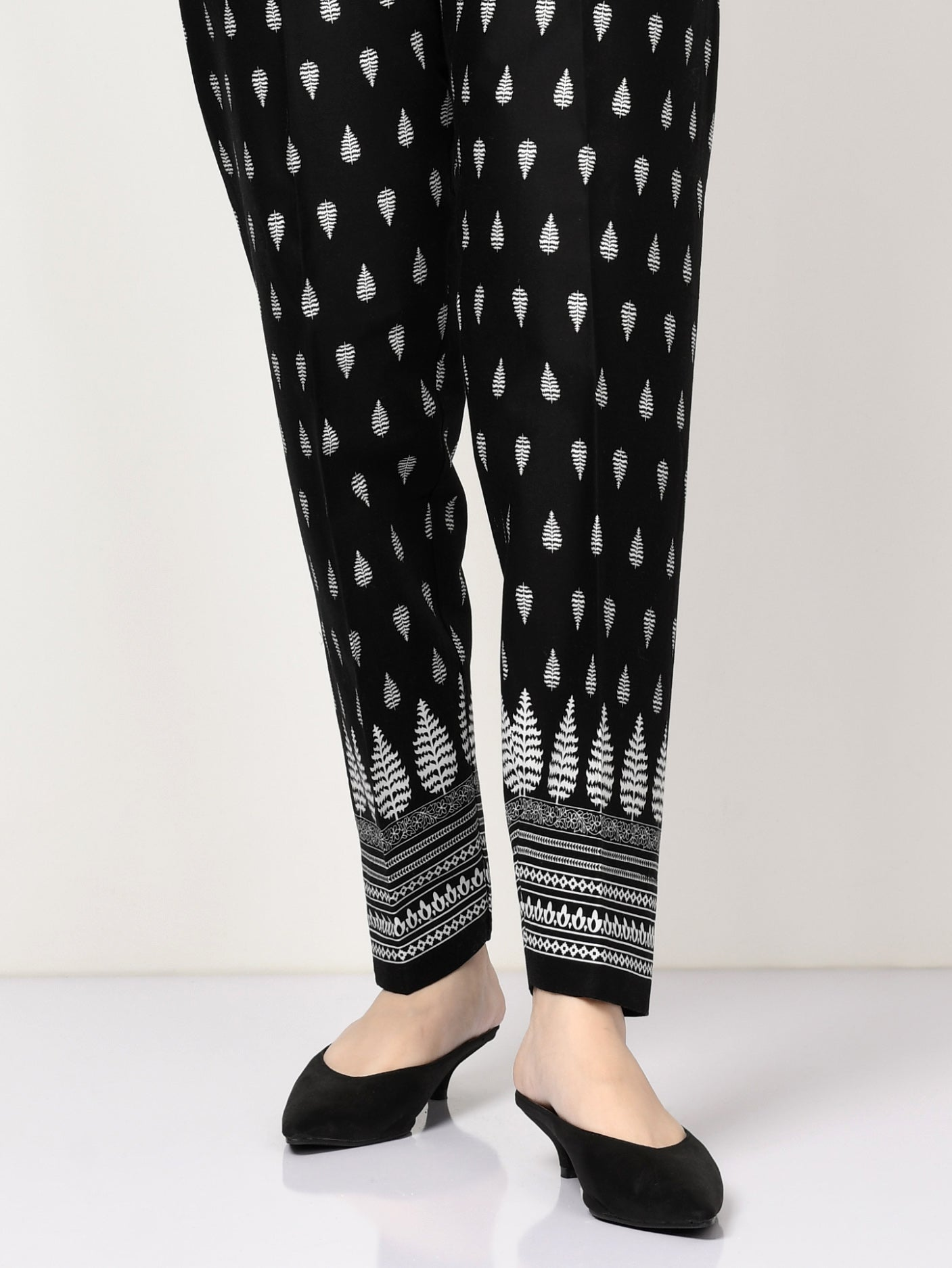 Printed Winter Cotton Trouser