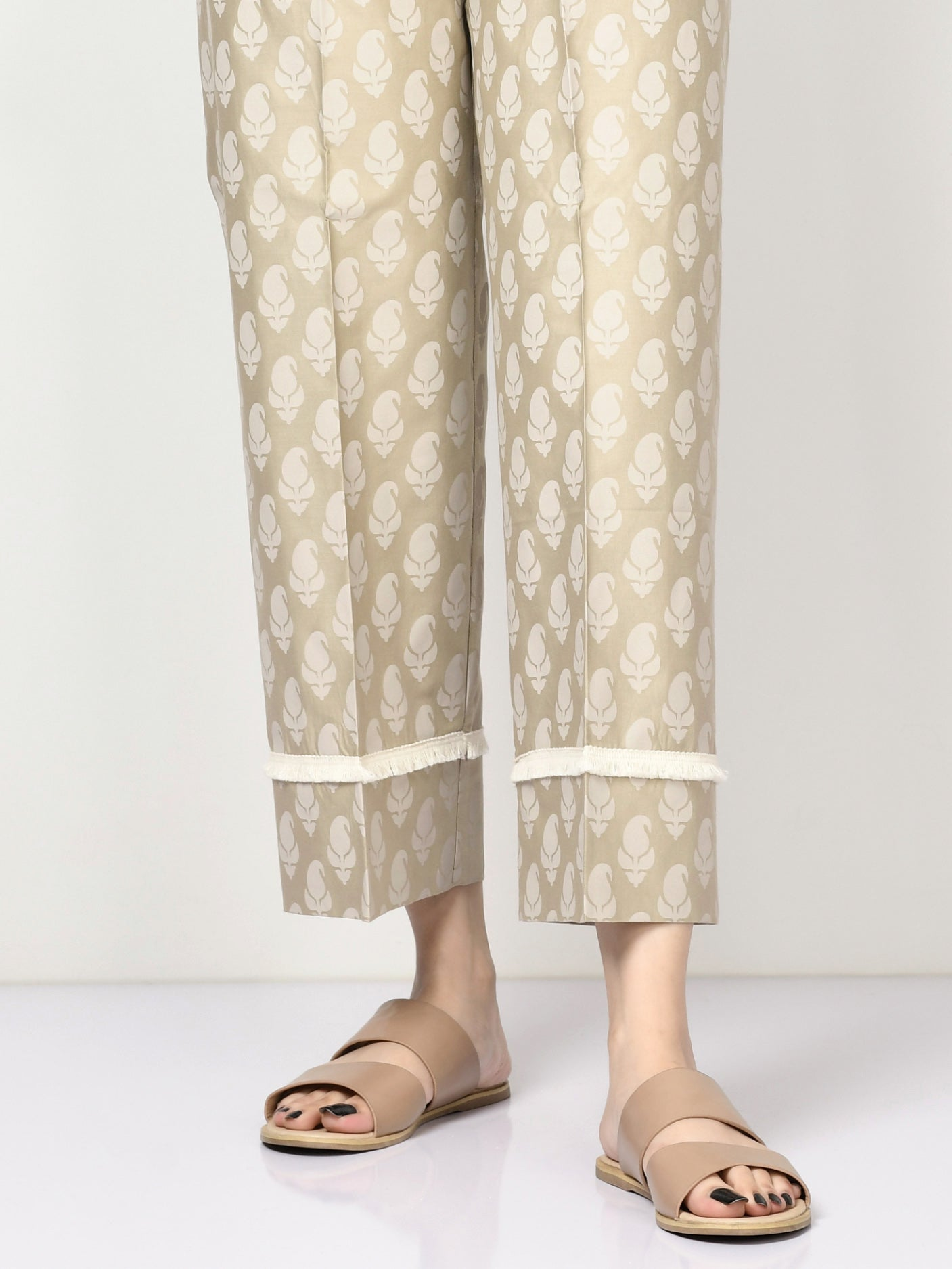 Printed Winter Cotton Pants