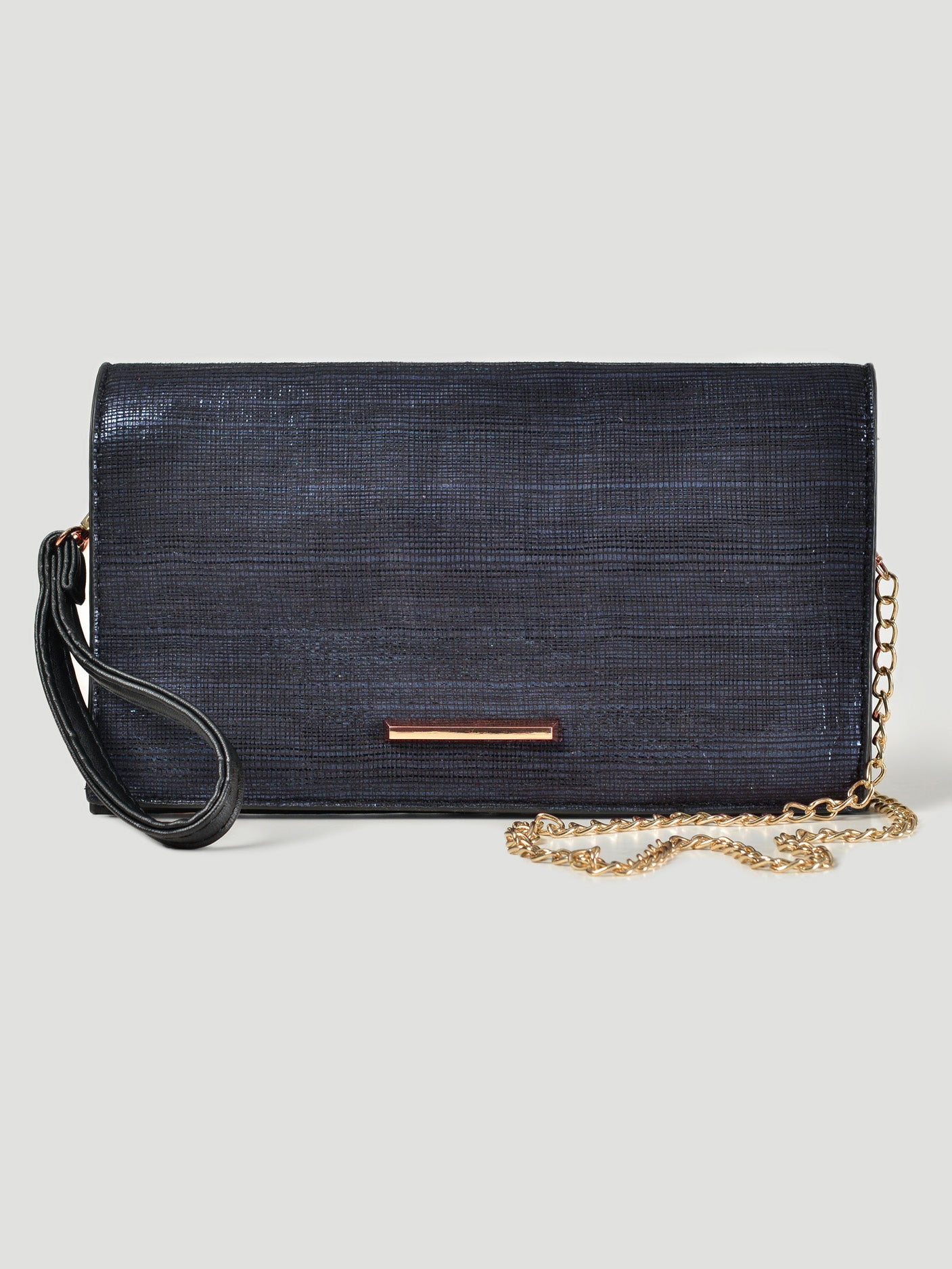 Textured Sheen Clutch