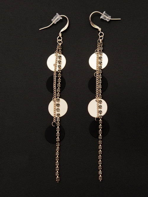 Dangling Rhinestone Earrings