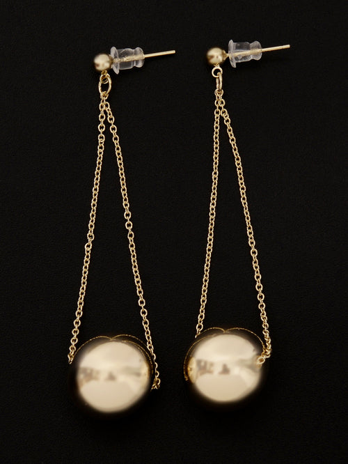 Ball Chain Earrings