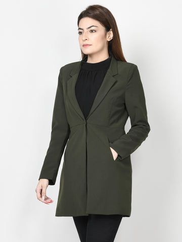 Classic Coat - Army Green