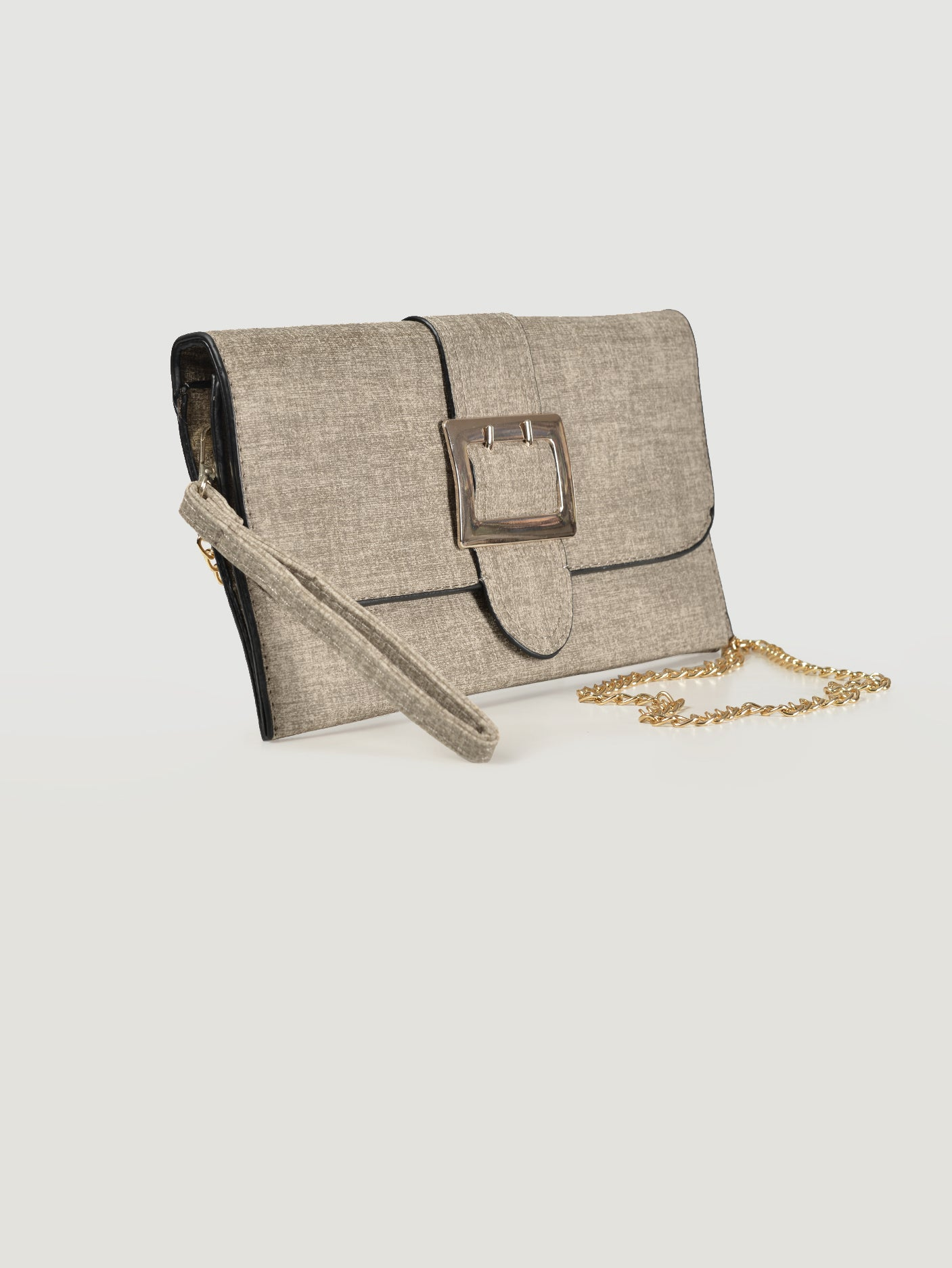 Buckled Clutch