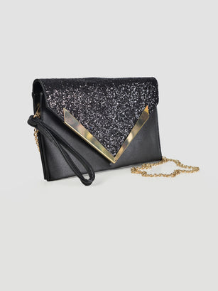 Shimmer Envelope Clutch