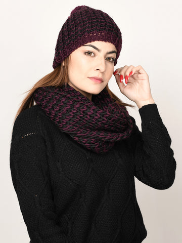 Zig Zag Patterned Muffler and Cap