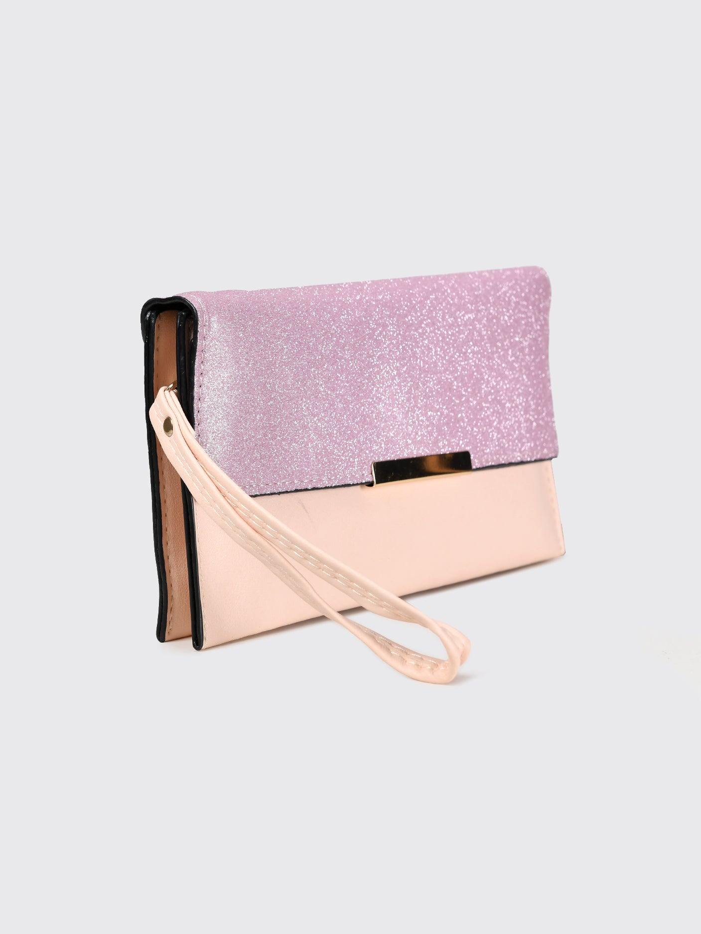 Sparkly Flap Wallet