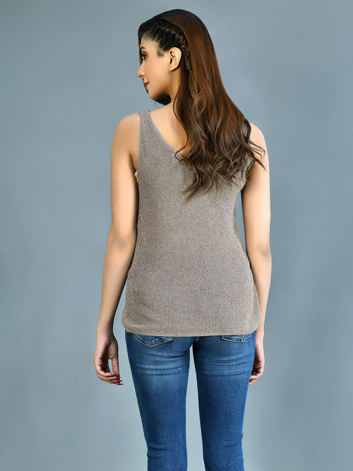 Shimmer Jersey Top