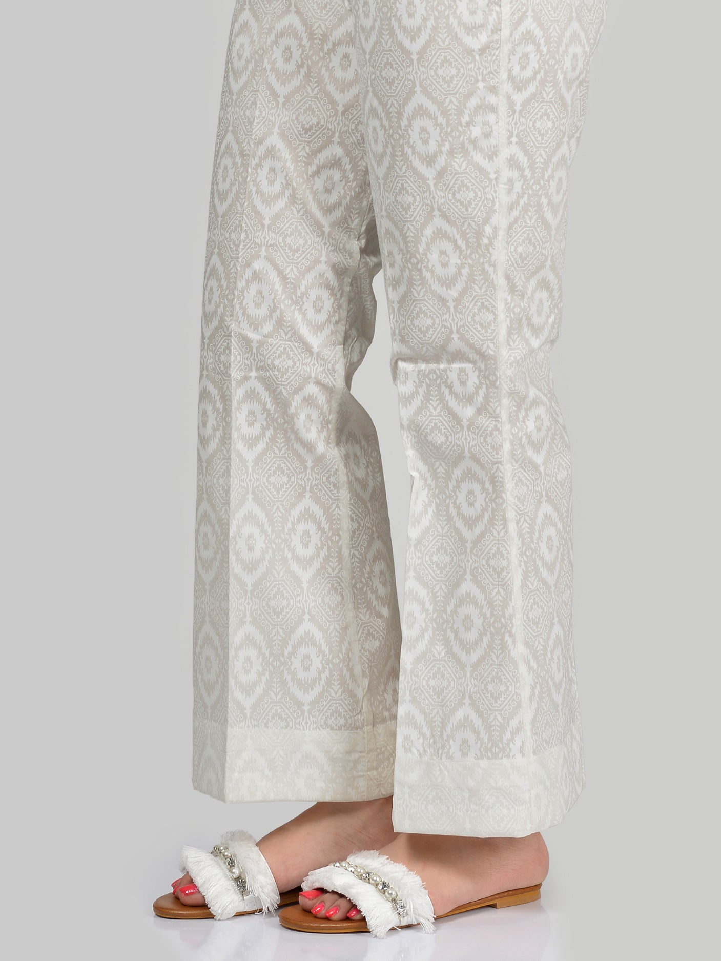 Cambric Printed Pants