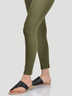 Basic Tights-Army Green