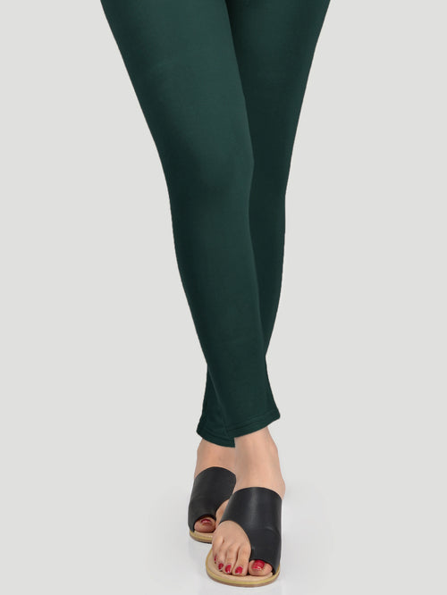 Basic Tights - Dark Green