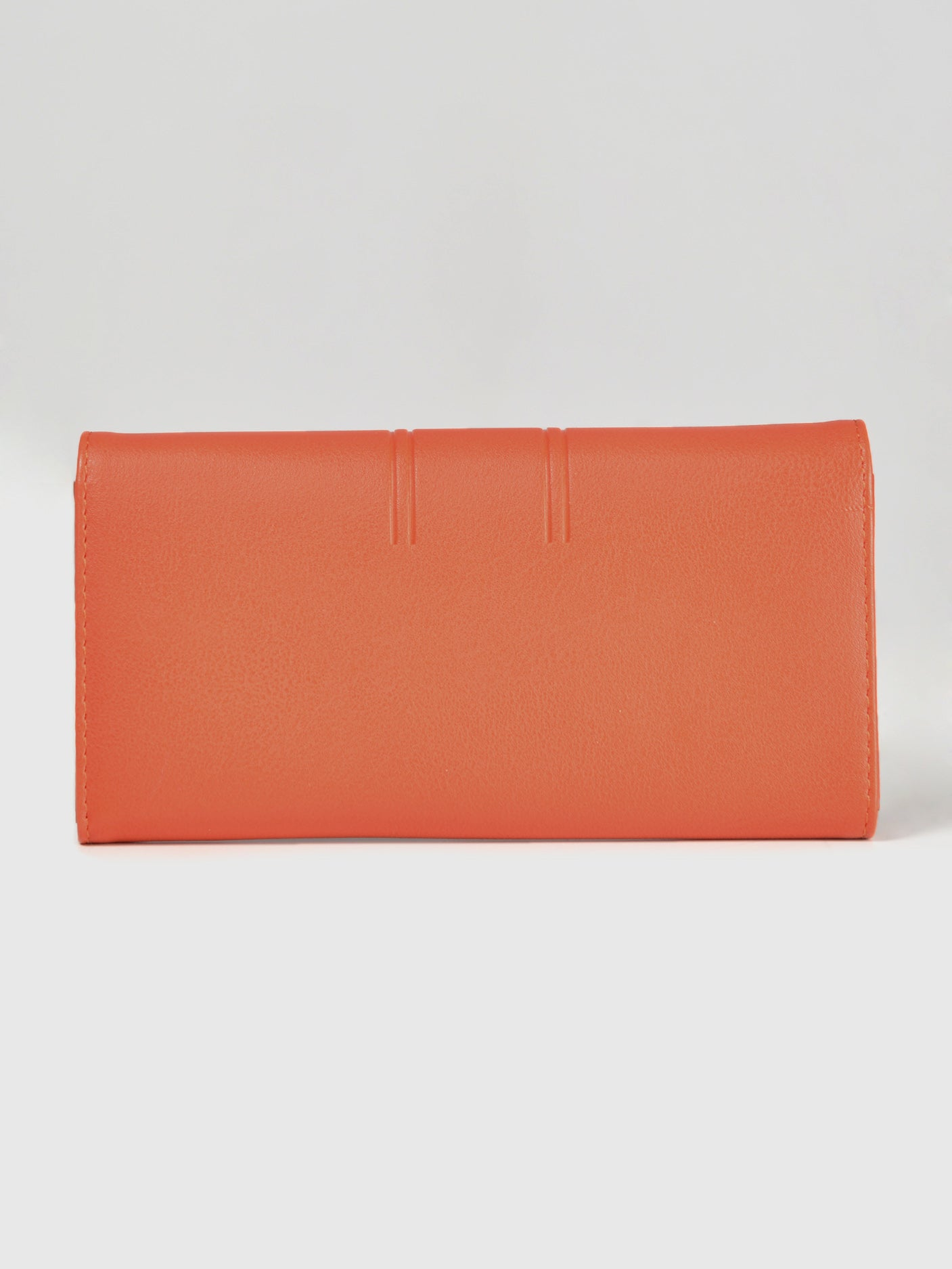 Glossy Orange Wallet