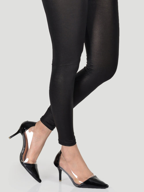 Shimmer Tights-Black