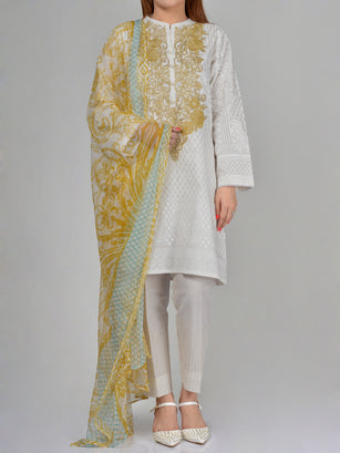 Limelight Embroidered Lawn Suit P0174 Online in Pakistan | Limelight.pk