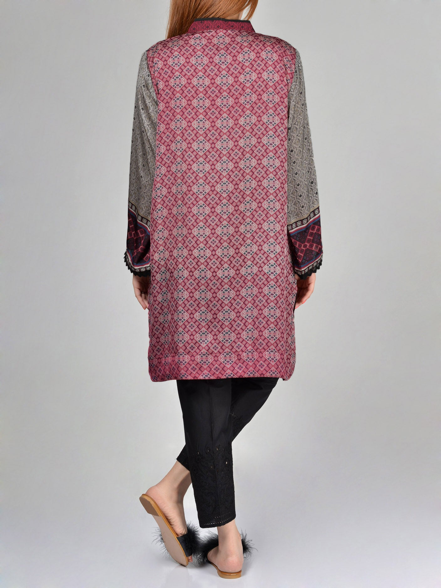 Buy Limelight Printed Silk Shirt F1581 Online in Pakistan | Limelight.pk