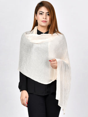 Crushed Pearl Scarf