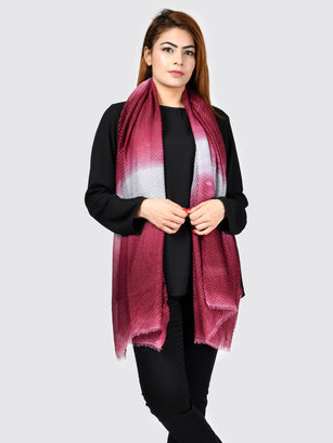 Shimmer Pleated Scarf