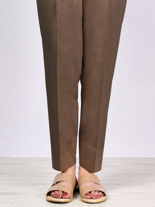 Straight Trouser-Chocolate
