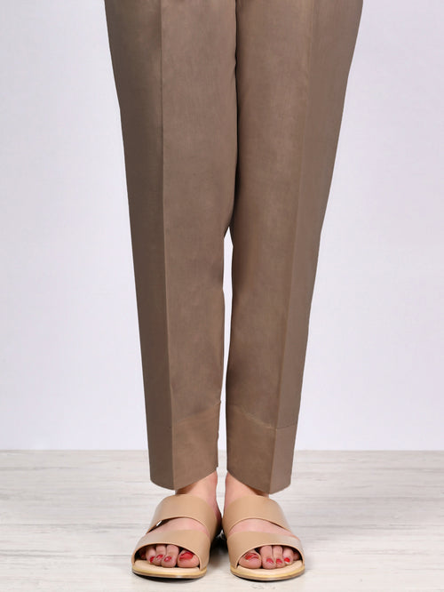 Straight Trouser-Brown