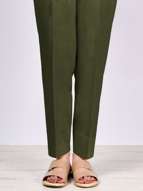 Straight Trouser-Army Green