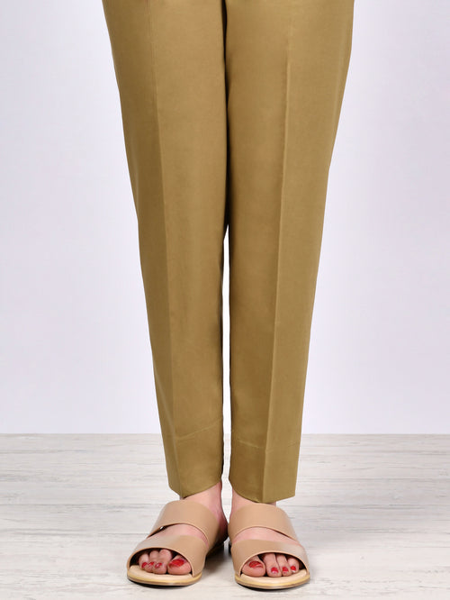 Straight Trouser-Olive