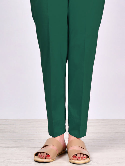 Straight Trouser-Green