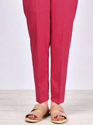 Straight Trouser-Light Pink