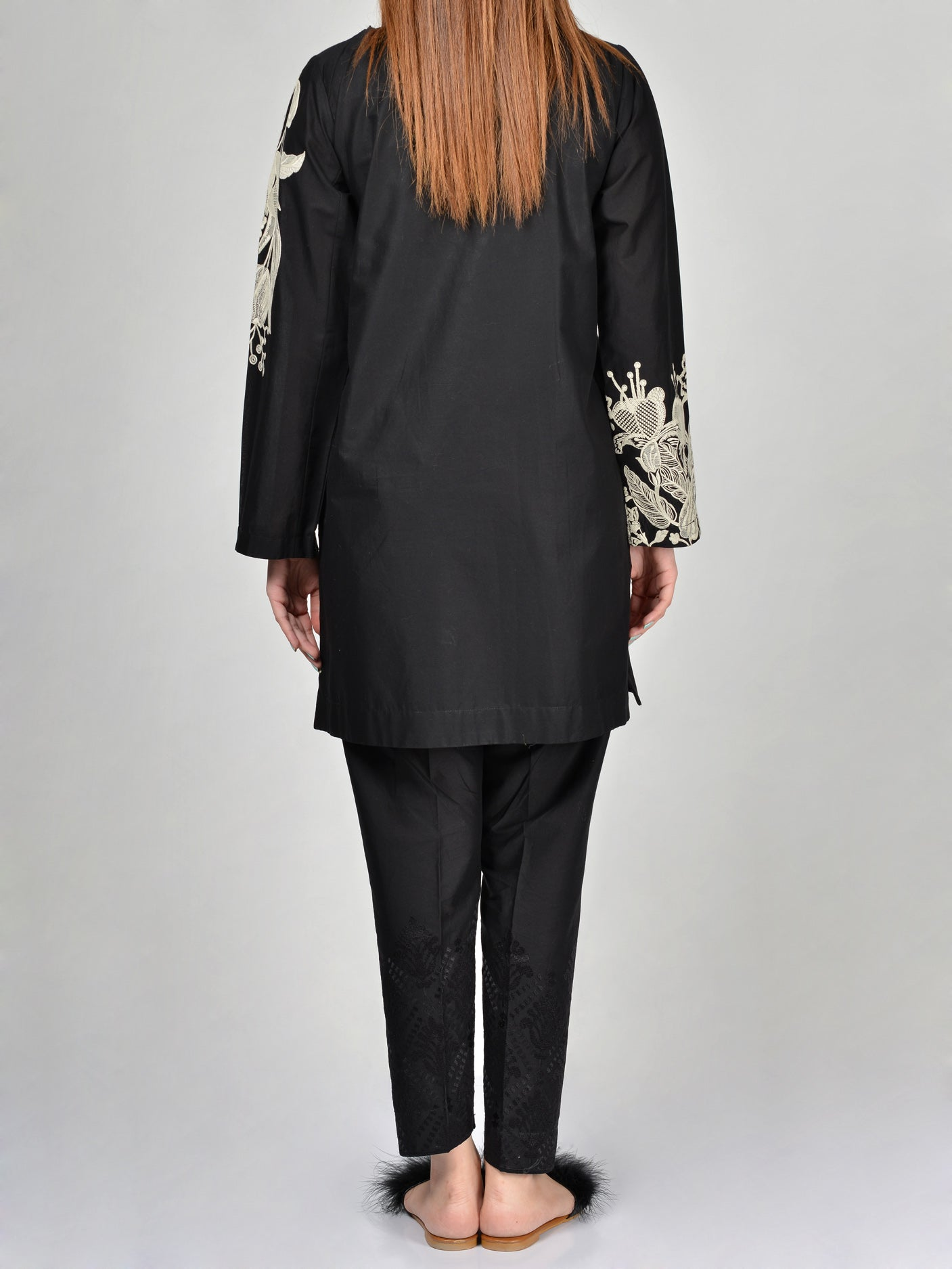 Limelight Embroidered Cambric Shirt P1992 Shop Online in Pakistan | Limelight.pk